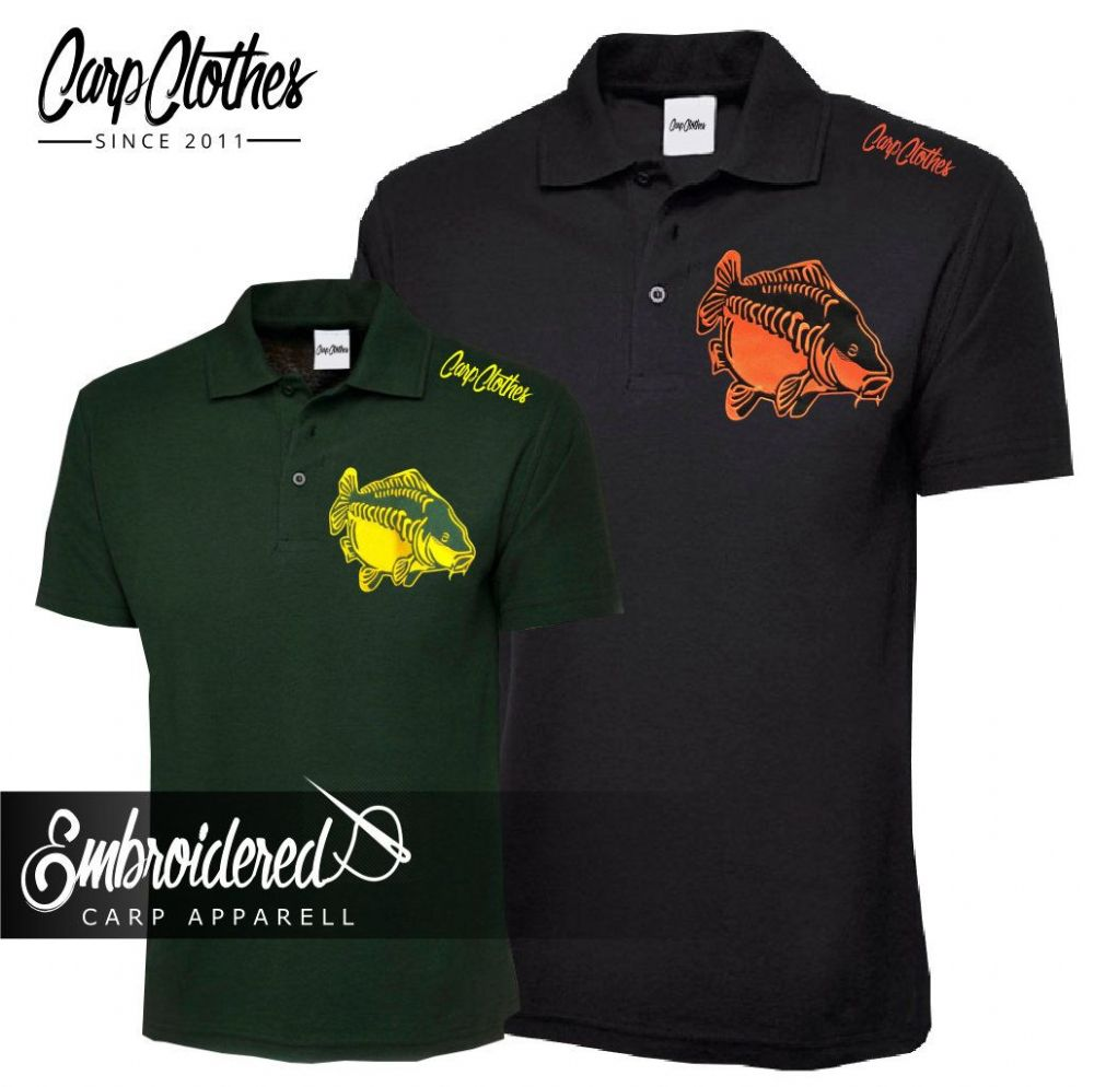CHILD 009 EMBROIDERED CARP POLO